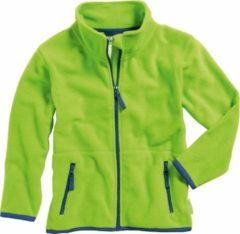 Playshoes - Kid's Fleece-Jacke - Fleecevest maat 92, groen