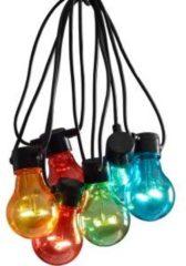 Konstsmide 2378-500 Party-lichtketting Buiten Energielabel: A (A++ - E) werkt op het lichtnet 10 + 80 Gloeilamp, LED Warm-wit Verlichte lengte: 4.5 m
