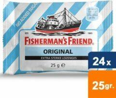 Fishermans Friend Fisherman's Friend - Original Suikervrij - 24x25gr