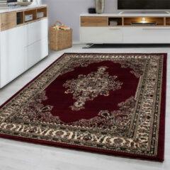 Marrakesh Laagpolig Vloerkleed - Zagora - Rood - 300 x 400 cm - Vintage, Patchwork, Scandinavisch & meer stijlen vind je op WoonQ.nl