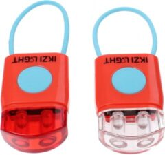Verlichtingsset ikzi light 2-led stripties rood - ROOD