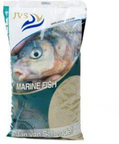 Bruine JVS Marine Fish Lokvoer - Lokvoer - 1 kg - Zand