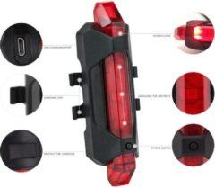 BikerVibes | Fiets Achterlicht | Fietsachterlicht | Rood | Led | Oplaadbaar | USB - Fiets Lamp