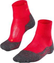 Falke - Women's Falke TK2 Short Cool - Wandelsokken maat 39-40, rood/zwart