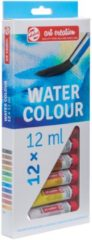 Royal Talens Water Colour set 12 kleuren 12 ml tubes aquarel aquarelverf transparante waterverf