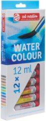 Talens Art Creation Water Colour set 12 kleuren 12 ml tubes aquarel aquarelverf transparante waterverf