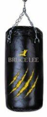Zwarte Bruce Lee Bokszak - Stootzak - Boxzak - 70cm - Incl Kettingset
