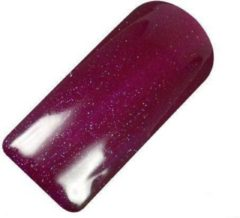 Rode Netamas Beauty Netama's Beauty Pearly Dark Red - Gel nagellak