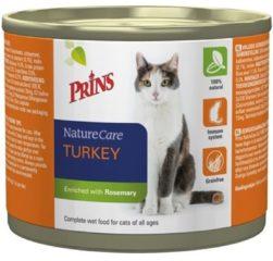 Prins Naturecare Cat Kalkoen - Kattenvoer - 200 g - Kattenvoer