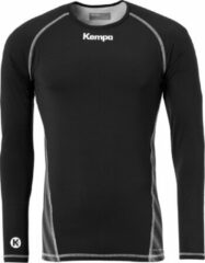 Kempa Attitude LS Sportshirt performance - Maat 128 - Unisex - zwart