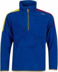 Campagnolo CMP Wintersportpully - Maat 164 - Jongens - blauw/geel/rood