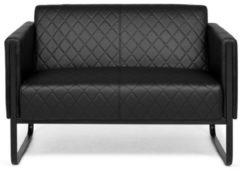Hjh OFFICE Aruba Black - Lounge Sofa