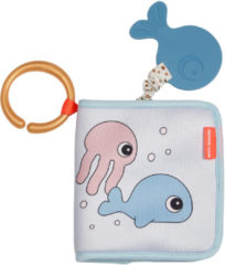 Done by Deer Baby Accessoires Bath Time Book Sea Friends Wit