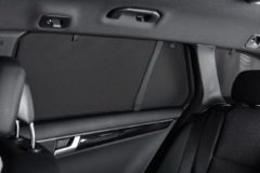 Zwarte Car Shades Carshades Renault Clio II 3-deurs 1998-2005 autozonwering