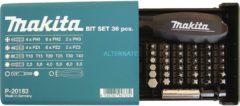 Makita P-20183 - Bit-Set 36-tlg P-20183