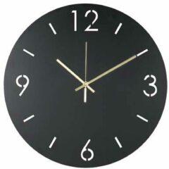 Spinder Design Time Klok - Zwart