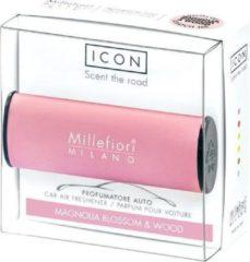 Roze Millefiori Milano Auto Parfum Magnolia Blossom & Wood (classic)