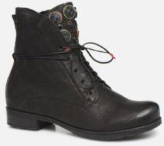 Zwarte Boots en enkellaarsjes Denk 85013 by Think!