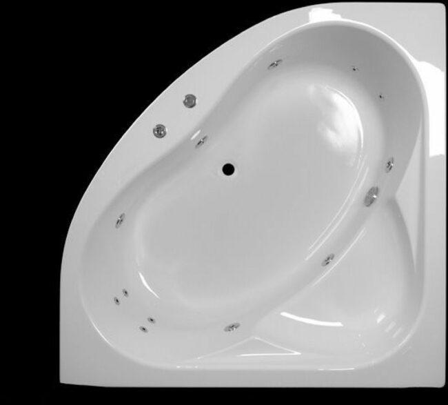 Afbeelding van Lambini Designs Palermo Bubbelbad 145x145cm 6+4+2 hydro jets
