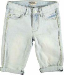 Blauwe Indian Blue Jeans Indian blue nova slim fit denim short meisje Short Short Maat 134