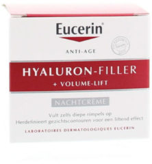 Eucerin Nachtcreme Hyaluron Filler en Volume Lift 50 ml