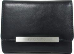 Blauwe Claudio Ferrici Classico Wallet navy II Dames portemonnee