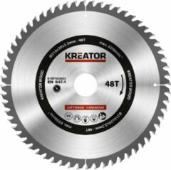 Kreator KRT020423 Zaagblad hout 216 mm - 48T