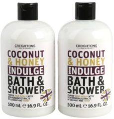 Creightons Coconut & Honey Duschgel 500ml 2er Set