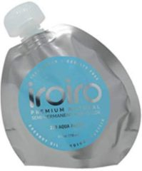 Blauwe Iroiro Semi Verf 230 Aqua Pastel 236ml