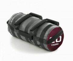 Paarse Toorx Fitness Toorx Powerbag Met 6 Hendels - 20 Kg