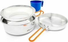 Oranje GSI - Glacier stainless 1persoons- kit - pannenset outdoor