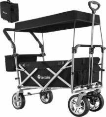 Tectake - opvouwbare bolderwagen handkar Nico zwart - 403549