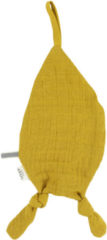 Gele Les Rêves d'Anaïs speendoekje druppel bliss mustard