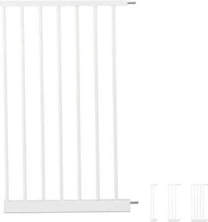 Afbeelding van Relaxdays traphekje verlengdeel - deurhekje verlengstuk - uitbreiding kinderhekje - wit XXL