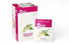 Sunleaf - groen Tea Jasmine - 2gr - 80 stuks