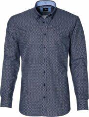 Jac Hensen Overhemd - Regular Fit - Blauw - 4XL Grote Maten