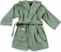HAVLU Badjasje stone groen 0-12 maanden