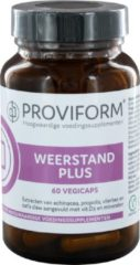 Proviform Weerstand Plus Vegicaps 60st