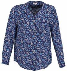 Blauwe Overhemd Manoush BANDANA SILK