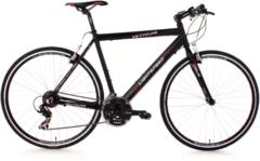 Fitnessbike, KS Cycling, »Lightspeed«, 28 Zoll, schwarz, 21 Gang Shimano Tourney, V-Brakes