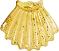 Jilong Luchtbed Schelp Glitter 172 X 165 Cm Goud