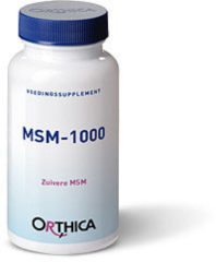 Orthica MSM 1000 Voedingssupplement - 90 Capsules