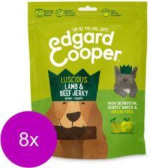 Edgard & Cooper Lam & Rund Jerky - voor honden - Hondensnack - 8 x 150g