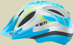KED Meggy K-Star Kinder Fahrradhelm Kopfumfang M 52-58 cm light blue