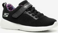 Skechers Bobs Squad Charm League meisjes sneakers - Zwart - Maat 32 - Extra comfort - Memory Foam