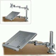 Lindy 40699 laptopstandaard met bureaubevestiging