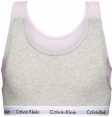 Calvin Klein Meisjes Bralette 2 Pk Bralette Small Sizes Grijs
