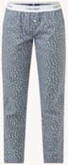 Antraciet-grijze Calvin Klein Pyjamabroek met logoband