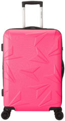 Roze Decent Q-Luxx - Spinner Trolley - 67 cm - expandable - pink