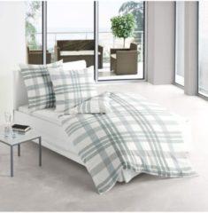 Biber Bettwäsche Davos 8635-30 Irisette grün